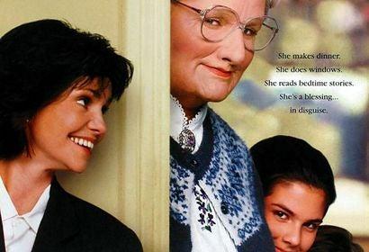 Mrs. Doubtfire movie poster