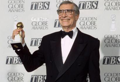 Actor Martin Landau, Golden Globe winner