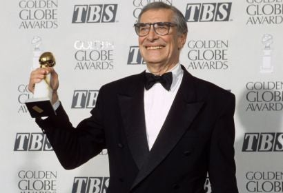 Actor Martin Landau, Golden Globe winner