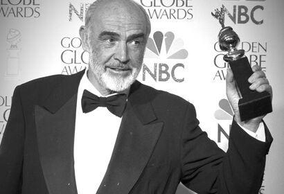 Sean Connery, Golden Globe winner and Cecil B. de Mille Award recipient