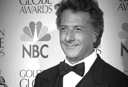 Actor Dustin Hoffman, Golden Globe winner and Cecil B. deMille recipient