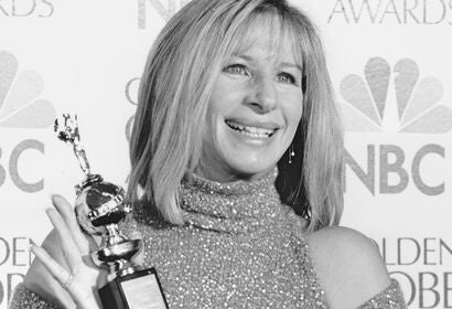 Barbra Streisand, Golden Globe winner and Cecil B. deMille recipient