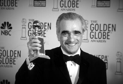 Filmmaker Martin Scorsese, Golden Globe winner and Cecil B. deMille recipient