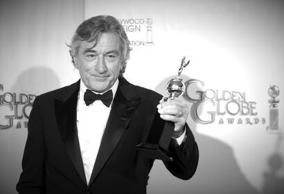 Actor Robet de Niro, Golden Globe winner and Cecil B. deMille award recipient