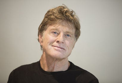 Robert Redford, actor, director, Golden Globe winner