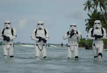 A scene from Rogue One