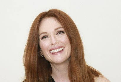 Actress Julianne Moore, Goldem Globe winner