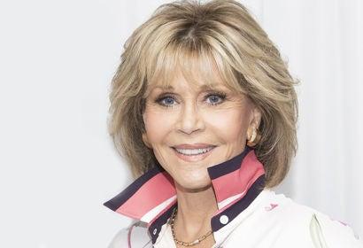 Actress Jane Fonda, Golden Globe winner