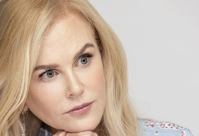 Actress Nicole Kidman, Golden Globe winner