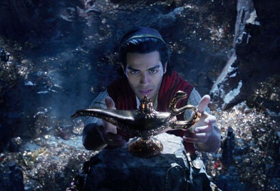 """Scenes from """"Aladdin"""", 2019"""