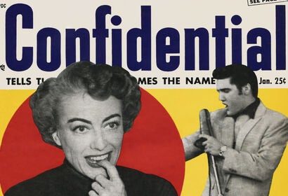 'Confidential Confidential' by Samantha Barbas is a book about America's first celebrity scandal magazine, 'Confidential,' which revealed Hollywood stars' vices, including illicit affairs. The 25-cent magazine was launched in 1952 by New York resident, Ro