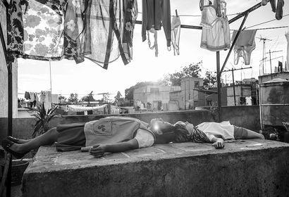 """Marco Graf and Yalitza Aparicio in """"Roma"""" (2018)"""
