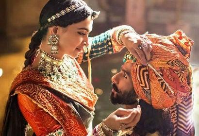 "Shahid Kapoor and Deepika Padukone in ""Padmaavat"" (2018)"