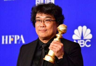 Director Bong Joon-Ho, Golden Globe winner