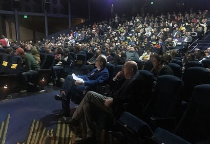 Audience packs the Egyptian for the Second Annual Restoration Summit