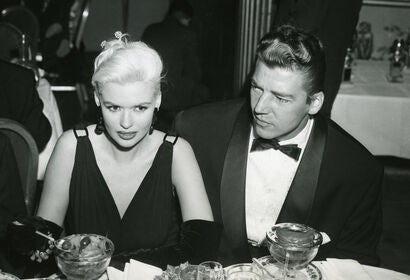 Jayne Mansfield and Mickey Hargitay, Golden Globes 1956