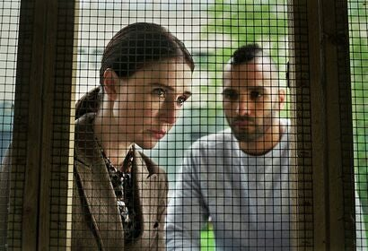 "Carice van Houten and Marwan Kenzari in ""Instinct"" (2019)"