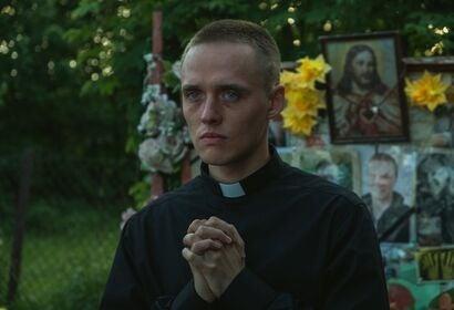 "Bartosz Bielenia in ""Corpus Christi"" (2019)"