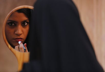 "Scene from ""Lipstick Under My Burkha"""