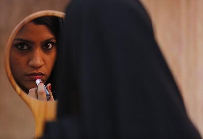 "Scene from ""Lipstick Under My Burkha"""