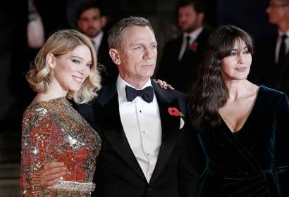 Bond Spectre Premiere London