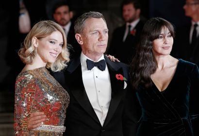 Bond Spectre Premiere London