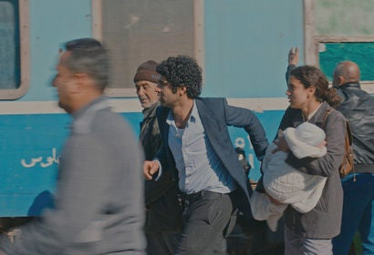 "Ameer Jabarah and Zahraa Ghandour in ""The Journey"" (2017)"