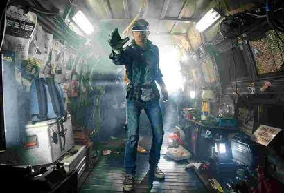 "A scene from the movie ""Ready Player One"""