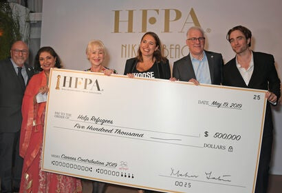 HFPA charity event at Cannes 2019