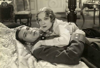 "Gary Cooper and Helen Hayes in ""A Farewell to Arms"" (1932)"