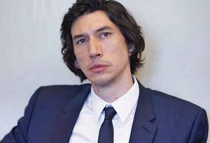 Actor Adam Driver, Golden Globe nominee