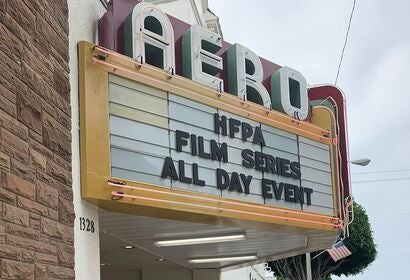 Aero Theater, HFPA Foreign Film Series