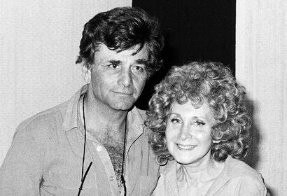 Peter Falk with Alena Prime in 1979