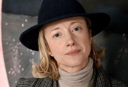 Actress Andrea Riseborough