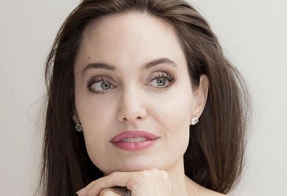Actress and filmmaker Angelina Jolie