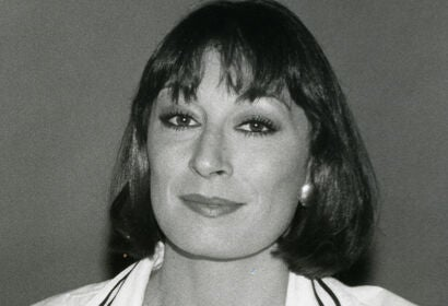Actress and director Anjeica Huston, Golden Globe winner