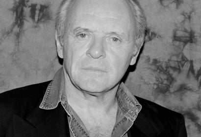 Actor Anthony Hopkins, Golden Globe nominee, Cecil B.deMille recipient