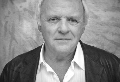 Anthony Hopkins, Golden Globe winenr and Cecil B. deMille recipient, 2002