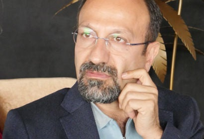 Director Asghar Farhadi in Cannes 2018