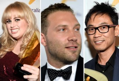 Rebel Wilson/Jai Courtney/James Wan at the Australian in Film Awards