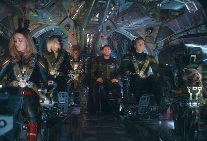 """Scene from """"Avengers: Endgame"""""""