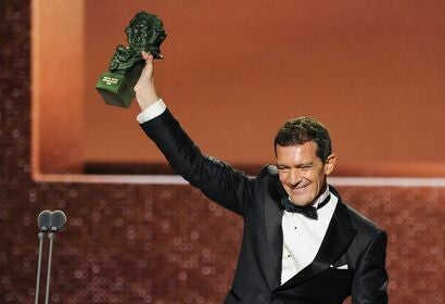 Antonio Banderas wins the Goya Award, 2020