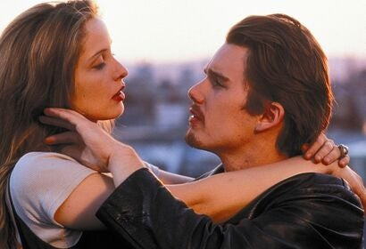 "A scene from ""Before Sunrise"", 1995"