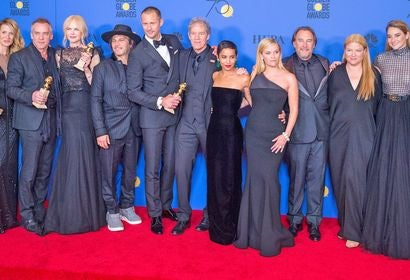 Cast and crew of Biug Little Lies, Golden Globe winnner