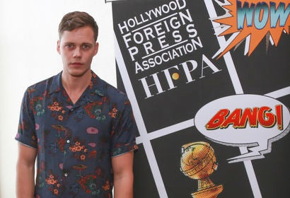 Actor Bill Skarsgard at Comic-Con 2018