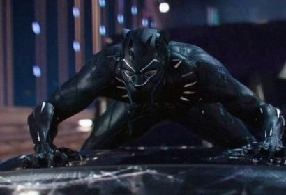 "A scene from the movie ""Black Panther"""