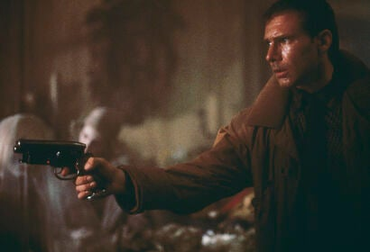 """Harrison Ford in """"The Bladerunner"""" - 1982"""
