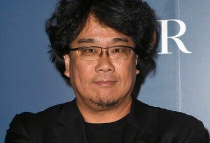 Director Bong Joon-Ho at Toronto HFPA party