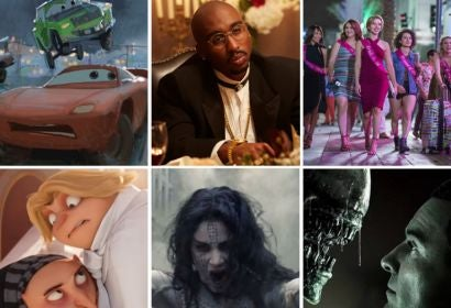 Scenes from: Cars 3, All Eyez on Me, Rough Night, Despicable Me 3, The Mummy and Alien: Covenant