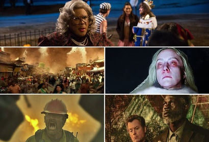"Scenes from: ""Boo 2! A Madea Halloween"", ""Geostorm"", ""The Snowman"", ""Only the Brave"" and ""Same Kind of Different as Me"""